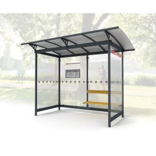 Autobusová zastávka / Kuřárna LIANA 3295x1985mm